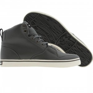 The Hundreds Riley High Leather (grey)
