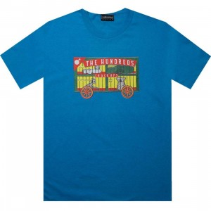The Hundreds Crackups Tee (turquoise)