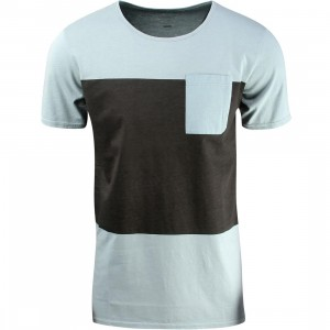 Tavik Lux Pocket Tee (gray / ether)