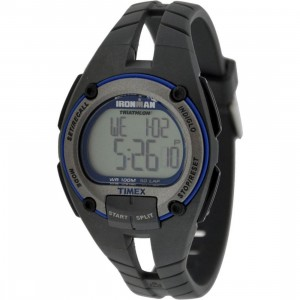 Timex 50 Lap Memory Chrono Watch (black / grey)