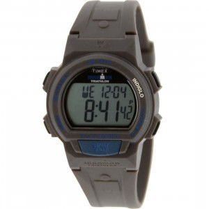 Timex 10 Lap Memory Chrono Watch (black / blue)