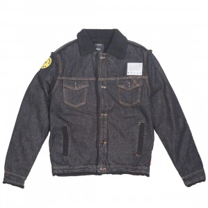 10 Deep Men Damage Control Denim Jacket (black)