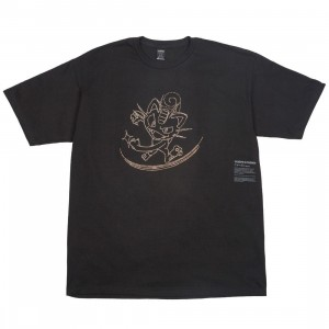 BAIT Exclusive 10 Deep x Pokemon Men Meowth Tee (black / gold)