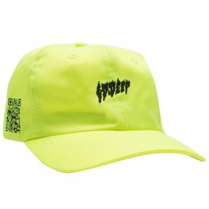 10 Deep Yoga Flame Dad Cap (yellow)