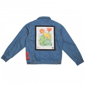 10 Deep Men Keep Back Denim Jacket (blue / med stone wash)