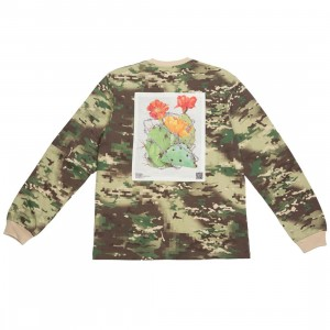10 Deep Men Keep Back Long Sleeve Tee (camo / digi camo)