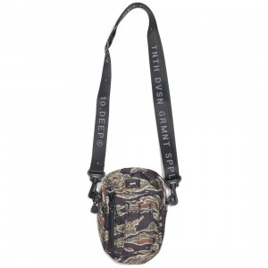 10 Deep Flight Satchel Bag (camo)