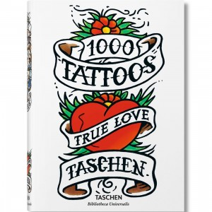 1000 Tattoos Book (white / hardcover)