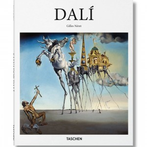 Dali By Gilles Neret Book (white / hardcover)