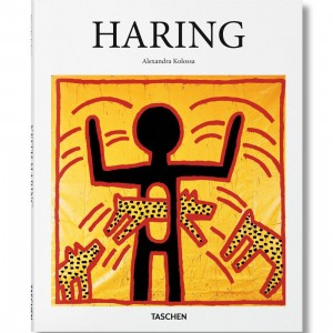 Haring By Alexandra Kolossa Hardcover Book (white / hardcover)