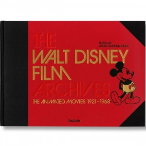 The Walt Disney Film Archives The Animated Movies 1921-1968 Book (black / hardcover)