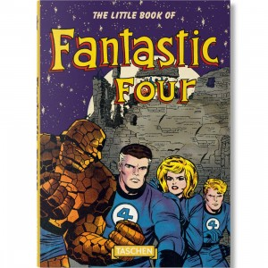 The Little Book Of Fantastic Four Book By Roy Thomas (purple)