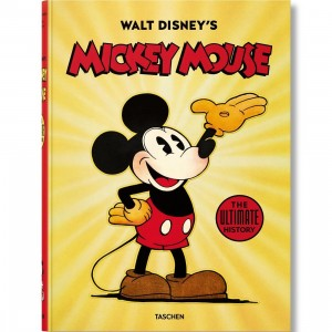 Walt Disney's Mickey Mouse: The Ultimate History Book (yellow / hardcover)