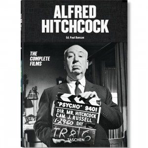 Alfred Hitchcock The Complete Films Book (black / hardcover)