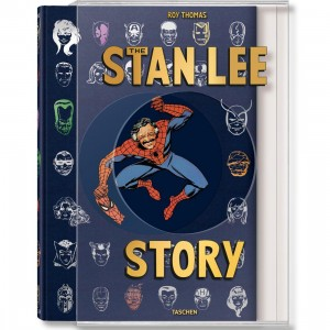 Stan Lee Story By Stan Lee Hardcover XXL Book (blue / hardcover)