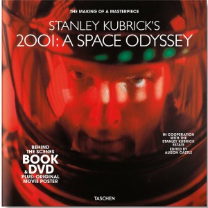 Stanley Kubrick's 2001 A Space Odyssey Book & DVD Set (black)