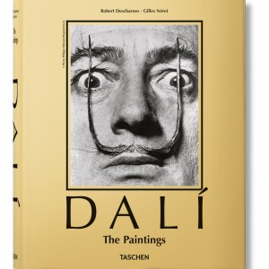 Dali The Paintings Hardcover Book (gold / hardcover)