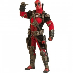 Sideshow Collectible Marvel Deadpool 1/6 Scale Collectible Figure (red)