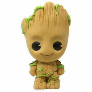 Monogram Marvel Guardians Of The Galaxy The Groot Figural PVC Bank (brown)