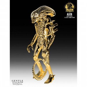 Gentle Giant Studios Alien Jumbo Gold Plated 35th Anniversary 24 Inch Figure (gold)