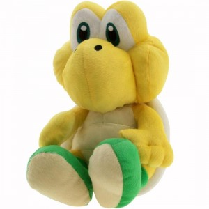 Super Mario Koopa Troopa Plush Backpack (yellow)