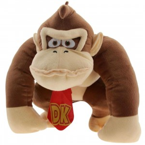 Nintendo Donkey Kong Plush Backpack (brown)