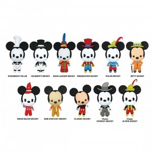 Monogram Disney Series 18 Mickey The True Original 90 Years Anniversary 3D PVC Foam Key Ring - 1 Blind Box