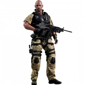 Hot Toys G.I. Joe Retaliation Roadblock 1/6 Scale Figure (black / olive)