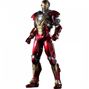 Hot Toys Iron Man 3 Heartbreaker Mark 17 1/6 Scale Collectible Figure (red / gold)