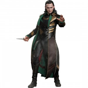 Hot Toys Loki Thor The Dark World 1/6 Scale Collectible Figure (green / black)