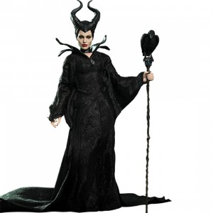 Hot Toys Maleficent 1/6 Scale Collectible Figure (black)