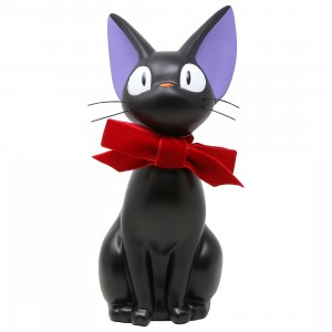 Studio Ghibli Benelic Kiki's Delivery Service Jiji Large Coin Bank (black)