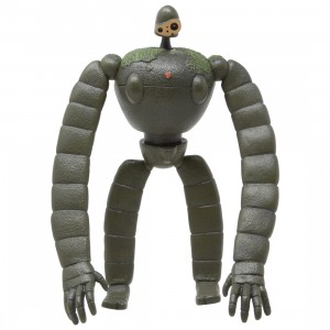 Studio Ghibli Benelic Castle In The Sky Gardener Robot Soldier Posing Figure (olive)