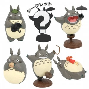 Studio Ghibli Benelic My Neighbor Totoro So Many Poses! Totoro Figure Ver 2 - 1 Blind Box