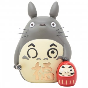 Studio Ghibli Benelic My Neighbor Totoro Good Luck Daruma (gray)