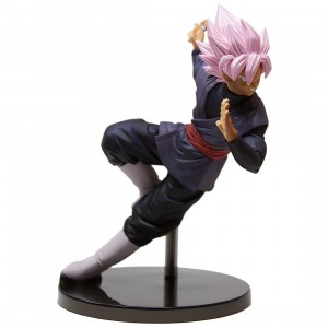 Banpresto Dragon Ball Super Son Goku Fes!! Special Version Super Saiyan Rose Son Goku Black Figure (pink)