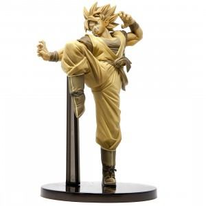 Banpresto Dragon Ball Super Goku Fes!! Vol 8 - Super Saiyan Son Goku Figure (gold)