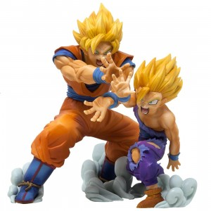 Banpresto Dragon Ball Z VS Existence Goku And Gohan Figures (yellow)