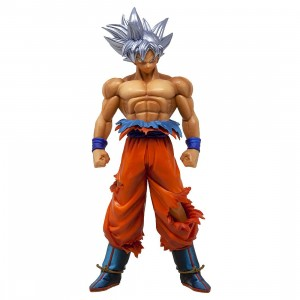 Banpresto Dragon Ball Super Legend Battle Super Saiyan Son Goku Ultra Instinct Figure (tan)