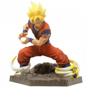 Banpresto Dragon Ball Z Absolute Perfection Son Goku Figure (orange)