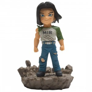 Banpresto Dragon Ball Super World Collectable Diorama Vol.2 Android 17 Figure (tan)
