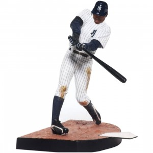 McFarlane Toys Curtis Granderson New York Yankees 30 MLB Figure (white)