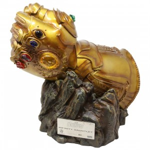 Beast Kingdom Avengers Infinity War MC-004 Infinity Gauntlet Replica Statue - PX Previews Exclusive (gold)