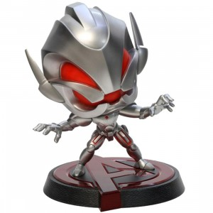 Dragon Model x Marvel Hero Remix 6in Bobblehead Series - Age of Ultron - Ultron Figure (silver)