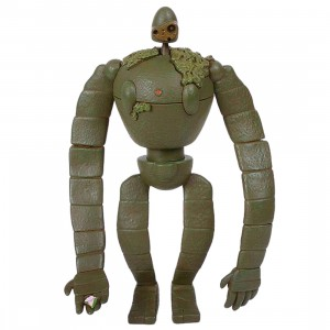 Studio Ghibli Ensky Castle In The Sky KM-74 Robot Soldier 3D Puzzle (olive)