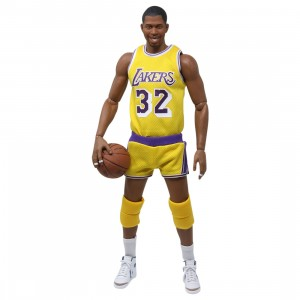 Figure Cool Magic Johnson 1980s Version 1/6 Scale Limited Edition Action Figure (yellow)