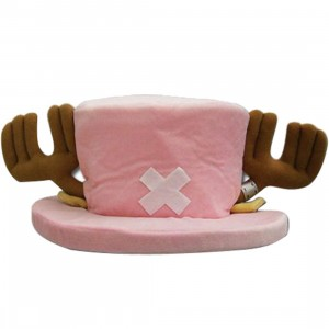 One Piece Tony Tony Chopper Plush Hat (pink)