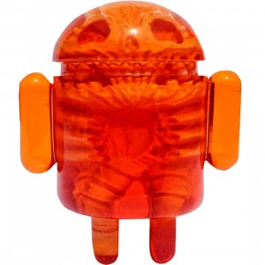 Android Foundry x Scott Wilkowski Infected Android Figure (orange) - SDCC Exclusive