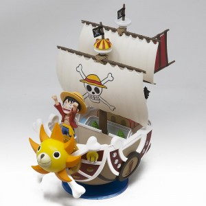Banpresto One Piece Mega World Collectable Thousand Sunny 7.5 Inch Figure (tan)