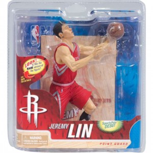 McFarlane Toys Jeremy Lin Houston Rockets NBA Figure - Chase Red Uniform (red)